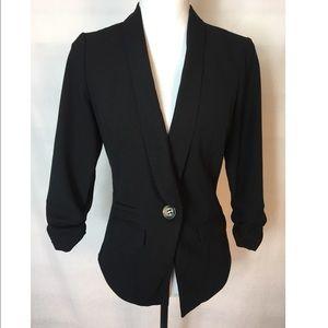 Metaphor Career Tuxedo Blazer Jacket